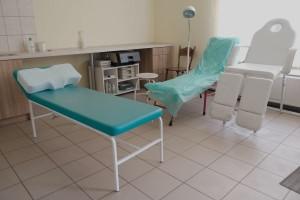 Gabinet zabiegowy przychodni Sono Med w Wyszkowie