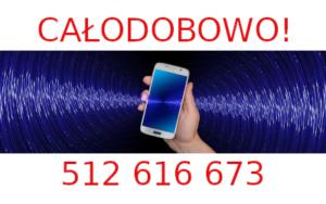 Telefony SonoMed czynne są przez całą dobę.